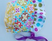 Vintage Inspired Boho Baby Girl Bonnet