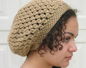 PATTERN - Kelechi Crochet Slouchy Beanie PATTERN - Slouchy hat pattern - PDF digital download - diy