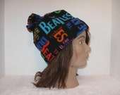Fleece Hat..Beanie..Winter Hat..Beatles