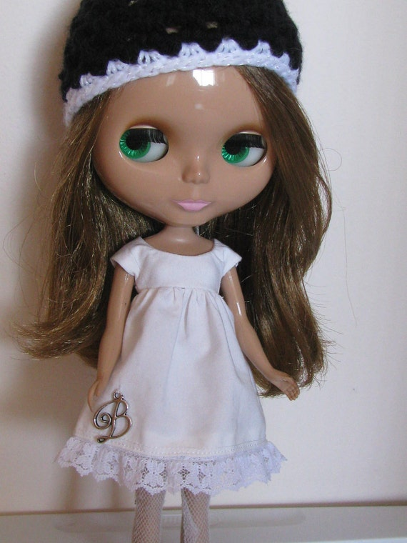 RESERVED LISTING For  FORTYDOLLYWINKS - B is for Blythe White