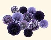 Handmade Spiral Flowers - Grape Hyacinth NEW