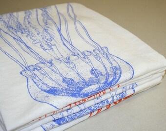 Blue Jellyfish Kitchen Towel seen in Foam Magazine