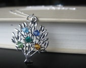 Custom Family Tree Necklace