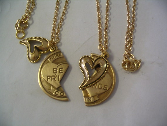 best friend necklaces and charm jewelry for friends