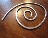 Large Swirl earrings