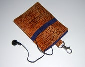 SALE - Padded Gagdet Pouch - iPod, cell phones, eyeglasses
