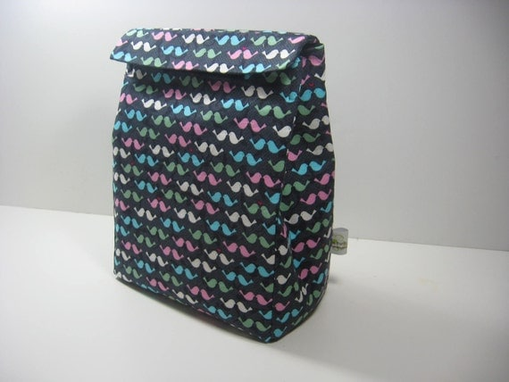 Insulated Lunch Bag - Tweets