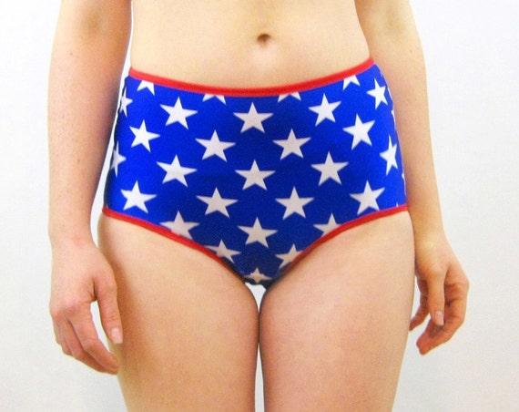 Wonder Woman high rise knickers panties