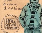Sketchbook no.2 art-zine - the depression issue
