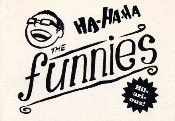 The Funnies comic zine