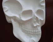 Decorate a Skull Skeleton Head Ashtray, Ring Holder or Candy Bowl Dish for Halloween or anytime