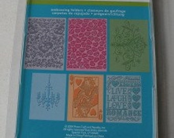 Provo Craft CuttleBug Embossing Folder Set of 6, Loves In The Air