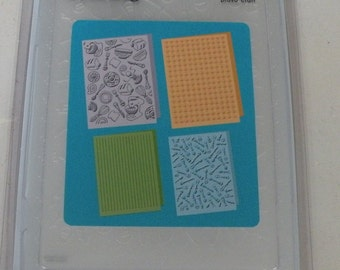 Provo Craft CuttleBug Embossing Folder Set of 4, Retro Kitchen