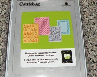 Provo Craft CuttleBug Embossing Folder Set of 4, Preserves