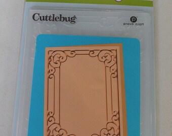 Provo Craft CuttleBug A2 Embossing Folder, Tiffany
