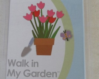 Brand New, Cricut Cartridge Walk In My Garden