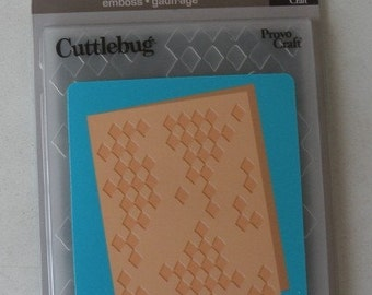 Provo Craft CuttleBug Embossing Folder Diamonds in the Rough