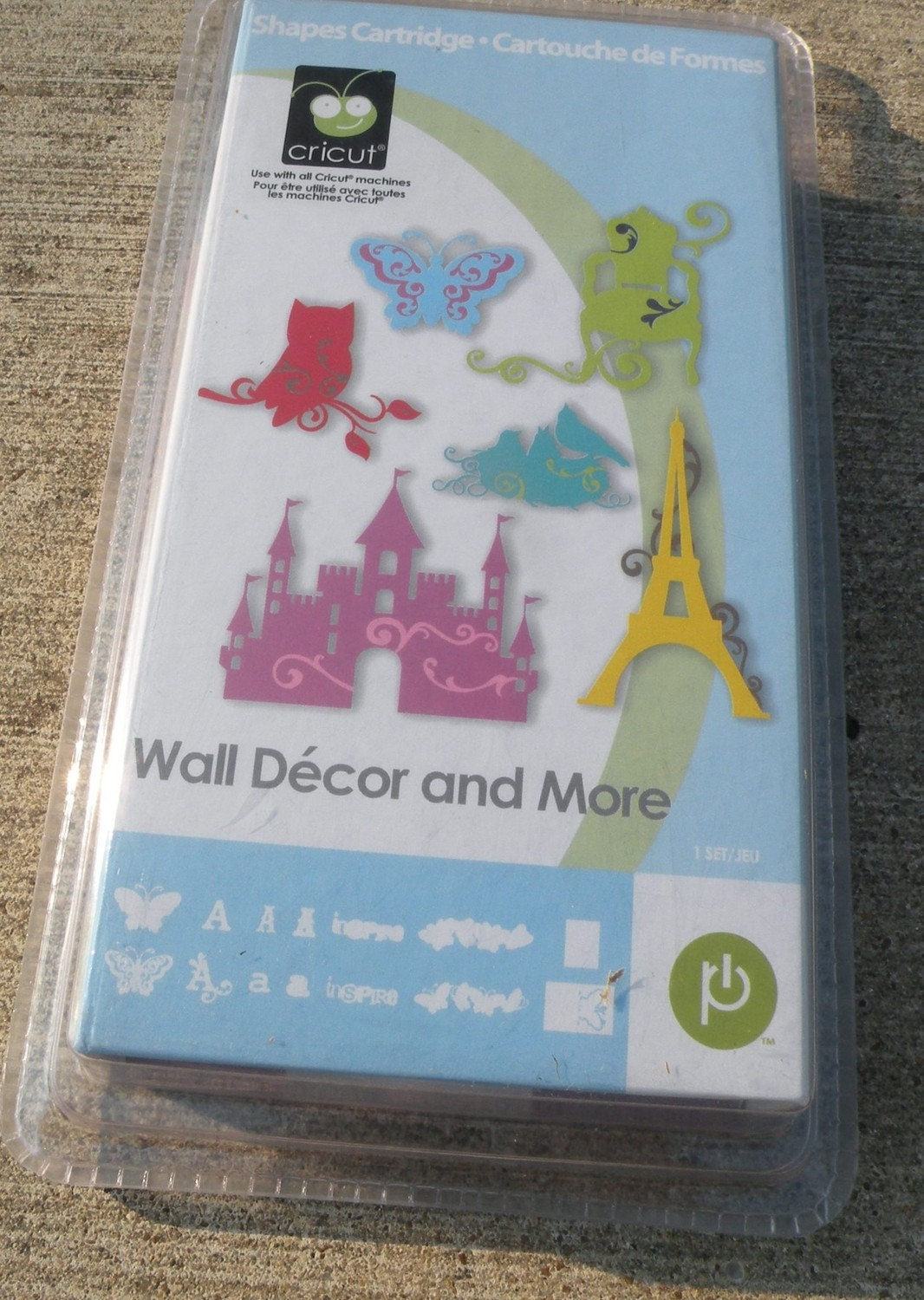 Wall Decor And More Cricut : Brand new cricut cartridge wall decor