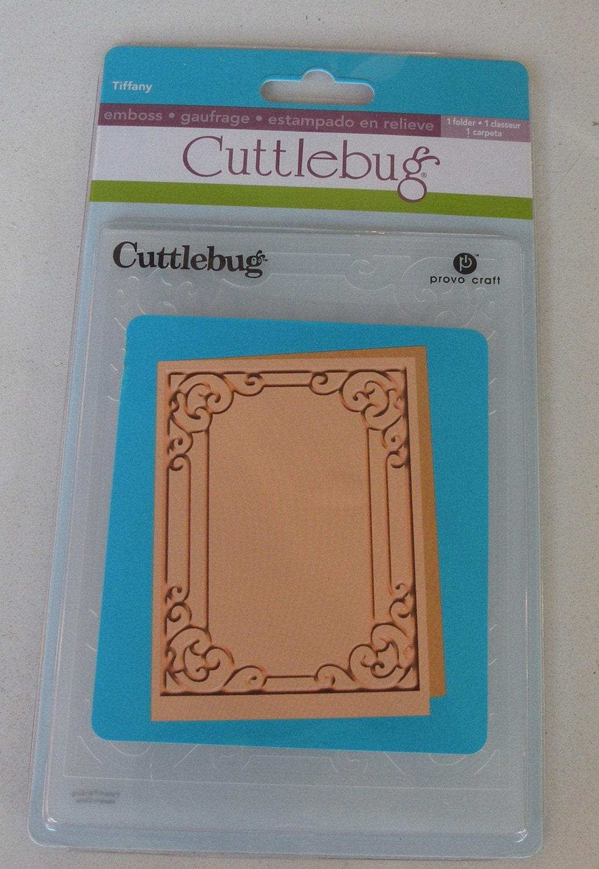 Provo craft cuttlebug a2 embossing folder tiffany for Www cuttlebug crafts com