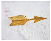 Reserved Listing for Nina - Gold Arrow Ring - Brass Arrow Ring - Adjustable Ring