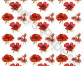 Digital Poppy Paper