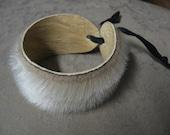 Seal Fur Cuff Bracelet- Fits all