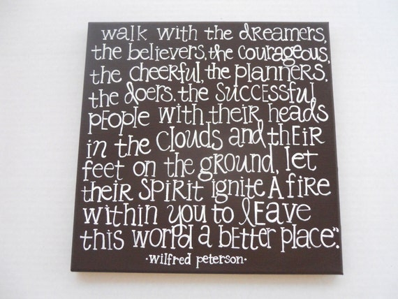 walk with the dreamers by winifred peterson