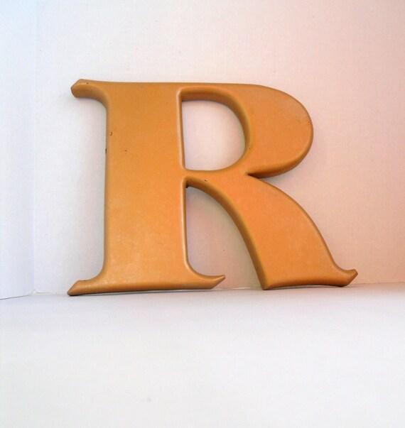 RESERVE for EMtanner vintage sign letter R