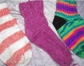 Easy circular Knitting pattern for socks