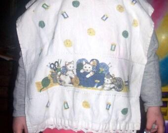 Baby or Toddler Bib Crochet Pattern
