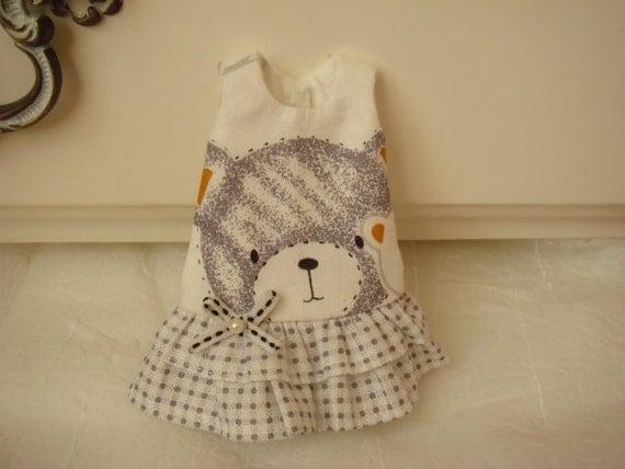 One piece dress for Blythe Doll - Sale
