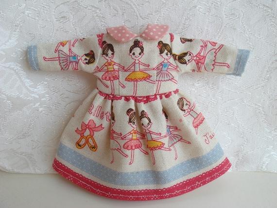One piece dress for Blythe Doll