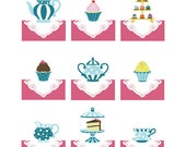 Girl nursery decorations, baby girl room decor, set of 3, 8 x 10 art prints - you choose the designs and colors