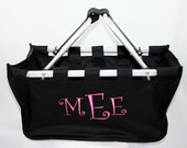 Personalized Market Tote Curlz Monogram Great Bridesmaids Gift
