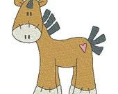 Sock Pony Machine Embroidery Designs