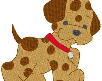 Embroidery Designs- Instant Downloade - Little Puppies Embroidery Designs, Dog Embroidery Designs, Embroidery Designs