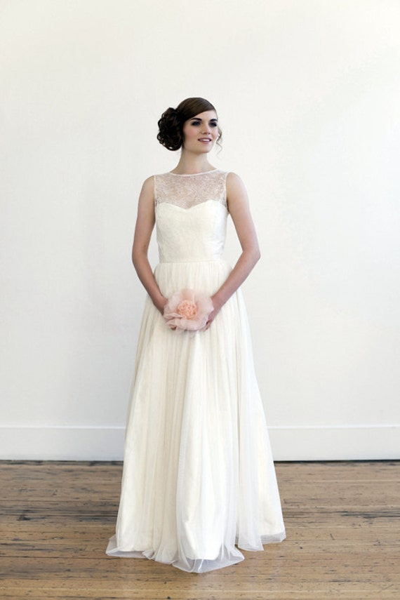 For Emily full length wedding gown
