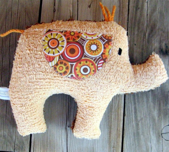 Cam Plush Vintage Chenille Elephant