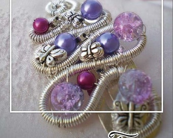 Hair clip Wire Wrapping Tutorial