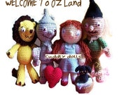 Instant Download PDF Crochet Pattern -From The wonderful wizard of oz