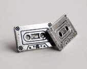 Cassette Tape Stud Earrings