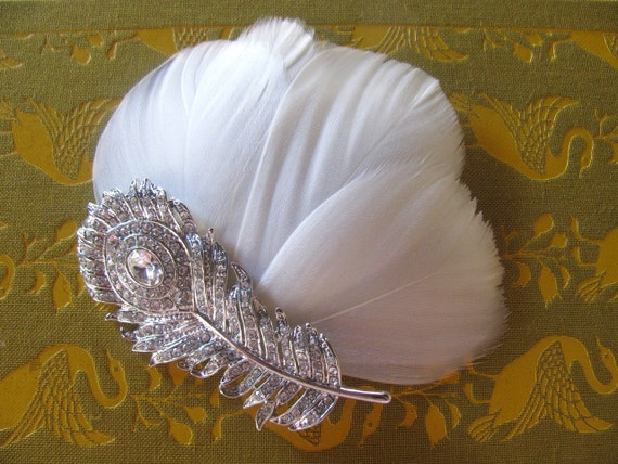 Items Similar To Peacock Wedding Hair Accessories
