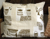 basket pillow cover
