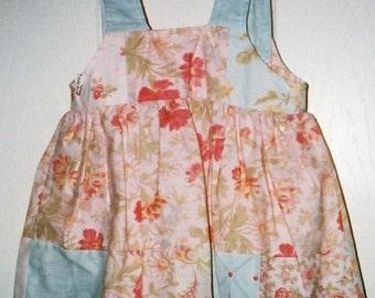 Easter Sundress, Girls, Pink Shabby Chic,T oddlers,Infants
