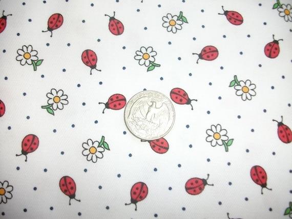 Ladybug fabric cotton pique children 39 s wear dress for Children s cotton dress fabric