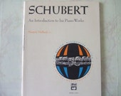 Vintage Intro to Schubert Piano Works Book