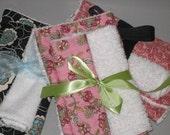 Custom Burp Cloths and Mini-Wipes Set - FREE personalization