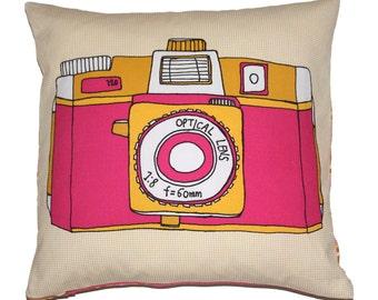 Holga Camera Cushion Pillow