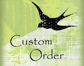 Custom order for dezijo