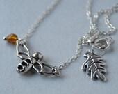 Sweet Honey Bee Necklace